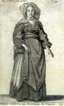 Woman of Calabria from Aula Veneris