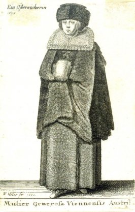 A Gentlewoman from Vienna - 1636