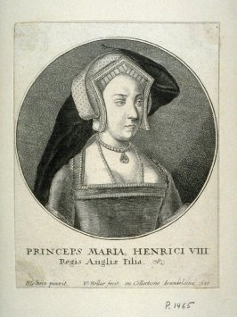 Mary of England, as Princess