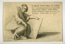 "Title page to ""Varie Figurae et Probae..."""