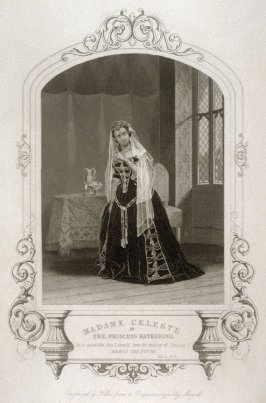 Madame Celeste as The Princess Katherine in Henry V.