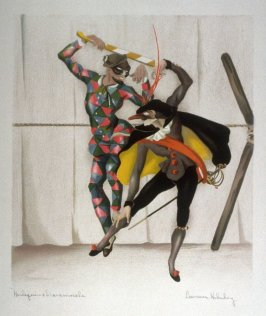 Harlequin and Scaramouche