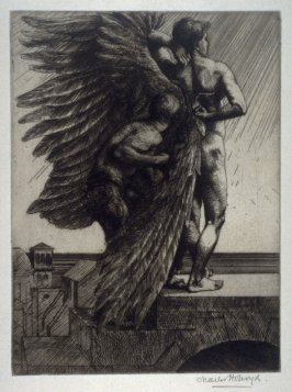Daedalus and Icarus, no. II from The Icarus Series