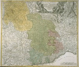 [Map of the Dukedom of Savoy and environs, Italy]Map - Savoy Ducatus Sabaudine