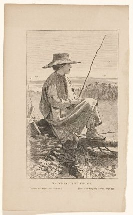 Watching the Crows from Our Young Folks, June 1868