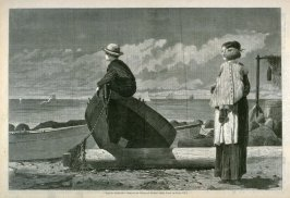 Dad's Coming, from Harper's Weekly