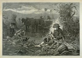 Last Days of Harvest, from Harper's Weekly
