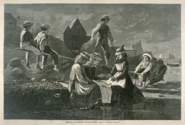 See-Saw, Gloucester, Massachusetts, from Harper's Weekly