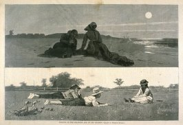 Flirting on the Seashore and on the Meadow, from Harper's Weekly