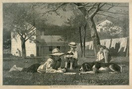 The Nooning, from Harper's Weekly