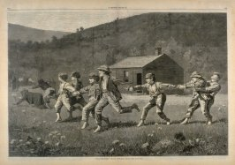 Snap the Whip, from Harper's Weekly, p. 824