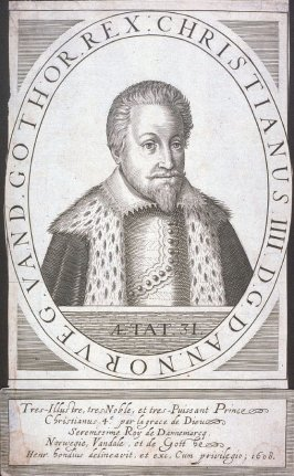 Portrait of Christian IV, King of Denmark and Norway