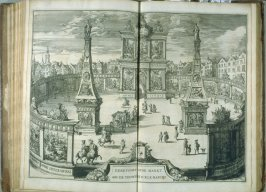 Eerepoort [arch]…, plate at p. 35 in the book Relation du voyage de sa Majesté britannique en Hollande (The Hague: Arnout Leers, 1692)