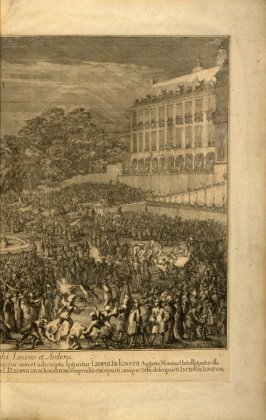 Plate 9(of 9) in Entry of Leopold I into Brussels, series of 9 bound plates celebrating victory over the Turks in 1683