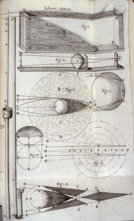 Scheme XXXVII, thirty-seventh plate, opposite page 220 in the book, Micrographia: or some physiological Descriptions of minute Bodies made by Magnifying Glasses. With Observations and Inquiries thereupon (London: printed by Jo. Martyn and Ja. Allestry, pr
