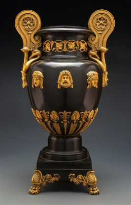 Vase and lid