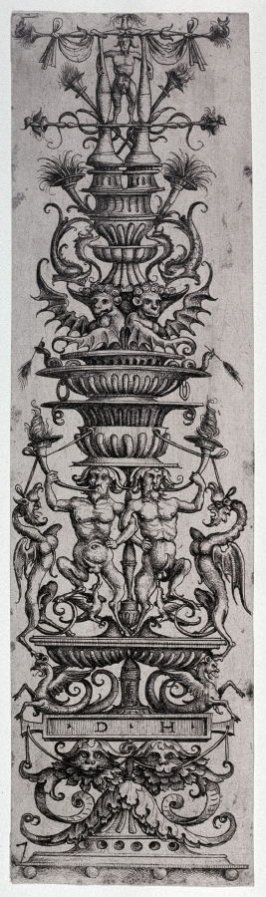 Arabesque with Satyrs