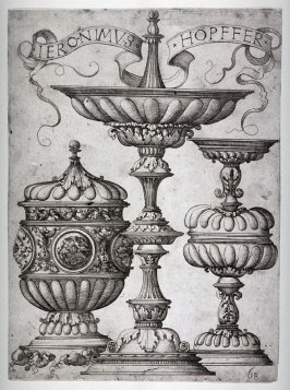 Designs for three covered Cups