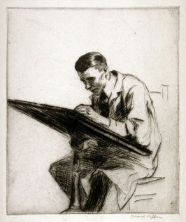 Portrait of Walter Tittle Drawing