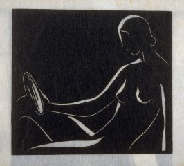 Reflections, first plate in the book Block Prints (Los Angeles: privately printed, 1932)