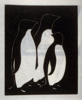 A Family Portrait, seventh plate in the book Block Prints (Los Angeles: privately printed, 1932)