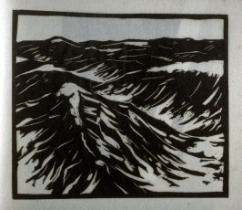 Rough Sea, tenth plate in the book Block Prints (Los Angeles: privately printed, 1932)