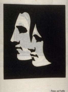 Tristan and Isolde, twelfth plate in the book Block Prints (Los Angeles: privately printed, 1932)