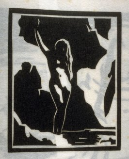 Bather, thirteenth plate in the book Block Prints (Los Angeles: privately printed, 1932)