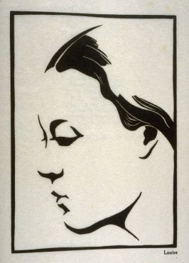 Louise, sixteenth plate in the book Block Prints (Los Angeles: privately printed, 1932)