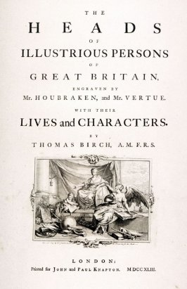 (The Heads of Illustrious Persons of Great Britain...)
