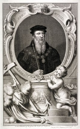 John Russel, the first Earl of Bedford