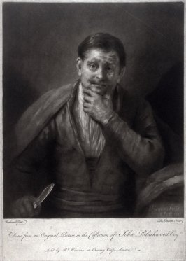 Portrait of a man (from an original in the Collection of John Blackwood)