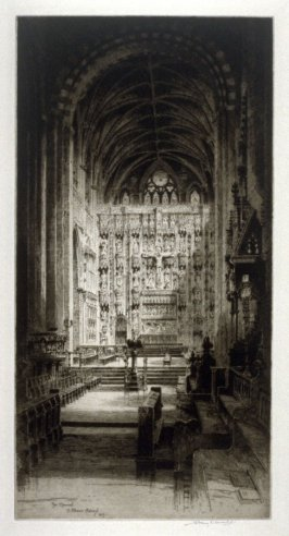 The Chancel of St. Albans Abbey