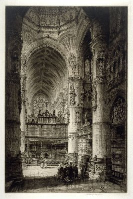 The Great Screen and Choir in the Cathedral of Burgos
