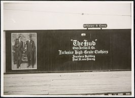 The Hub Clothiers Billboard