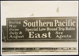 Southern Pacific Billboard