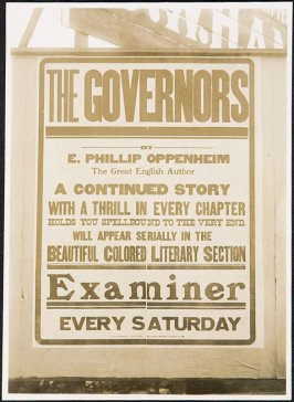 The Governors / Examiner Billboard
