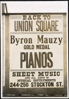 Byron Mauzy Pianos Billboard