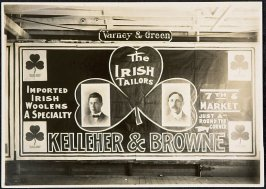 Kelleher & Brown Iriash Tailors Billboard