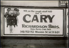Cary Safes Billboard