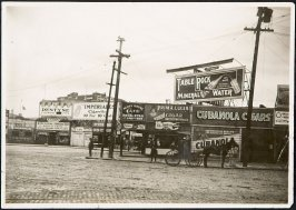 Untitled (Street Scene with Cigar Store)