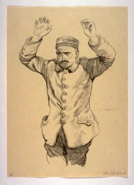 Kamarad (March 1915), number 20 from The War Sketches of Charles Huard