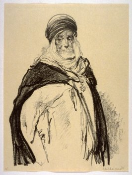 An Arabian Chief (Oct. 1914), number 4 from The War Sketches of Charles Huard