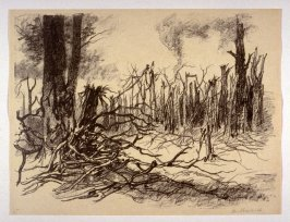 Bouffignereux Woods (Feb. 1915), number 15 from The War Sketches of Charles Huard