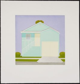 Untitled (Blue House)