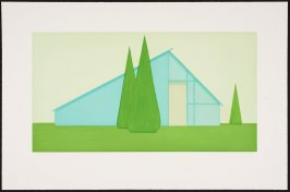 Untitled (Persian Blue House)