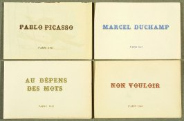 Four Pamphlets with Poems by Georges Hugnet, Paris 1941 by Georges Hugnet (Paris: Georges Hugnet, 1941).