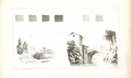 Pl. 5 in the book, The Art of Drawing on Stone (London: C. Hullmandel & R. Ackermann, [1824]