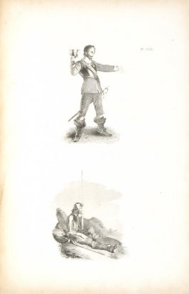 Pl. 17 in the book The Art of Drawing on Stone by C. Hullmandel (London: C. Hullmandel & R. Ackermann, [1824]