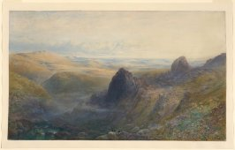 A Panoramic View over Moorland